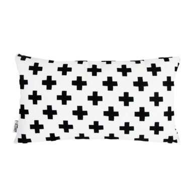 GLERRY HOME DÉCOR Swiss Cross Cushion - 30x50Cm