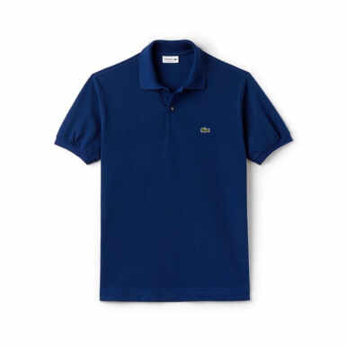 LACOSTE Men's Classic Fit Polo in Petit Pique - Inkwell [S]