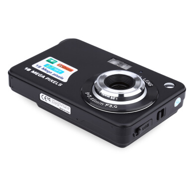 18MP HD 2.7 inch TFT Anti-shake 8X Digital Zoom Camera