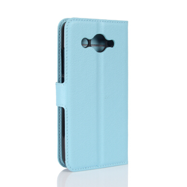 GANGXUN Meizu E2 Case High Quality PU Leather Flip Cover Kickstand Magnetic Wallet Cover for Meizu E2-Blue
