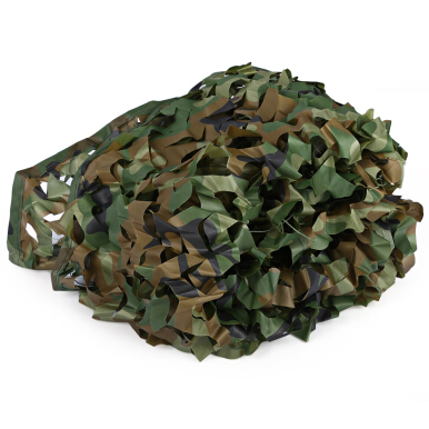 1.53M x 1.99M Woodland Military Army Hunting Camping Tent Car Cover Camouflage Net Netting