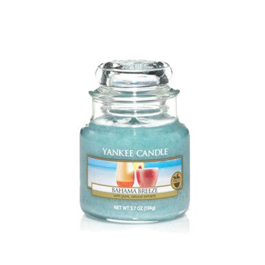 Yankee Candle Small Candle Jar - Bahama Breeze - 104gr