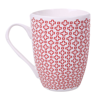 NAKAMI New Bone Mug Plus White, Blue & Red Set of 3 - NK-TCM008-A056