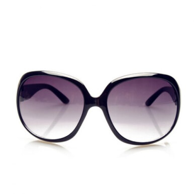 Chic Solid Color Big Frame Sunglasses For Women