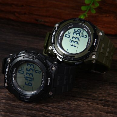 Skmei 1112 Sports Men Watch with Pedometer 3D Function 5ATM Water Resistant
