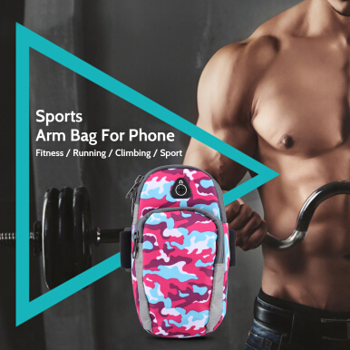 Free Knight Outdoor Cycling Sports Running Cell Phone Arm Band bag wrist Pouch Key Package
