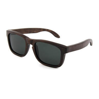 TUTU Walnut Wood Wayfarer Wooden Sunglasses [00022]