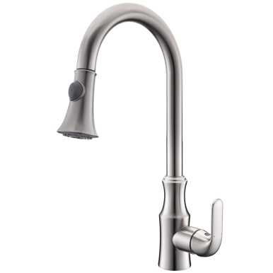 LANGFAN J6528 Basin Mixer Taps With Pull Down Sprayer Faucet