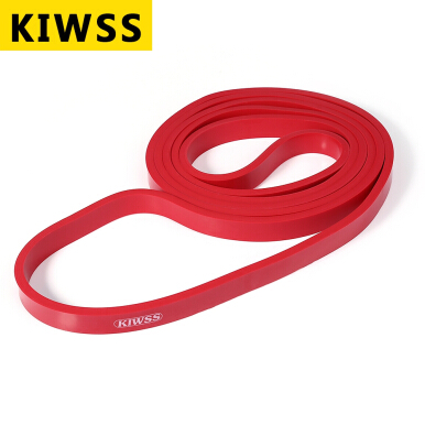 KIWSS 208CM Natural Loop Physio Resistance Band Body Building Yoga Exercise Fitness Equipment