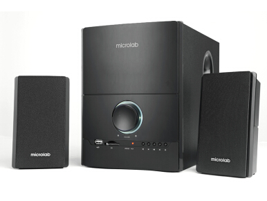 MICROLAB M500U 2.1 Series Speaker - Black