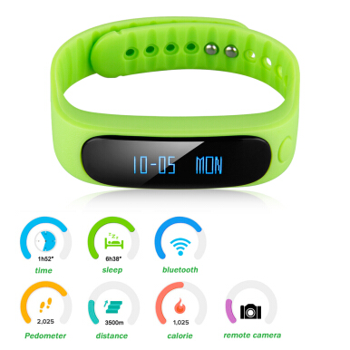 Diggro SW19 Smart Health Bracelet for Android and IOS (Green)
