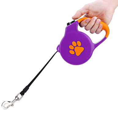 5m Extendable Retractable Pet Dog Lead Training Leash