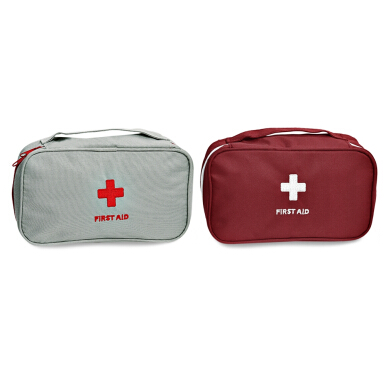 First Aid Zip Around Portable Medicine Storage Bag