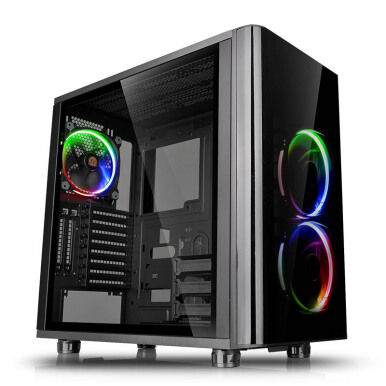THERMALTAKE View 31 TG RGB /BLACK/WIN/SGCC/Tempered Glass