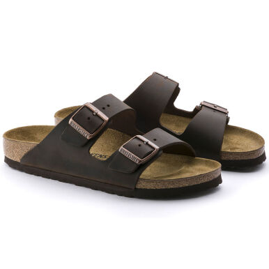 BIRKENSTOCK Arizona Birko-Flor Oiled Leather - Habana [40]