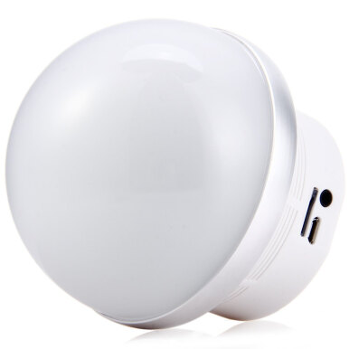Sardine A3 Mini Magic Mushroom LED Lamp Bluetooth V2.1 + EDR Stereo Music Speaker