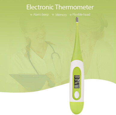 Portable Digital Electronic Thermometer Flexible Temperature Measurement