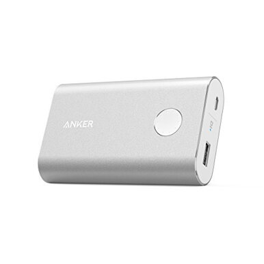 ANKER PowerCore+ 10050mAh With Quick Charger - Silver [A1311H41]