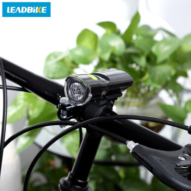 LEADBIKE Outdoor Bicycle MTB Water Resistant LED Front Warning Safety Light Headlight Flashlight Bike Accessories