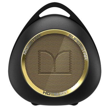 MONSTER Superstar Hotshot Portable Bluetooth Speaker - Gold