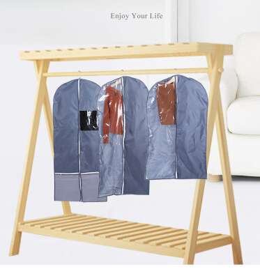 Foldable Wardrobe Hanging Garment Cover Case Dust-proof Storage Bag