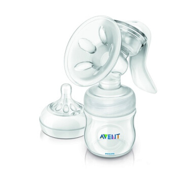 AVENT SCF330/20 Breast Pump Natural Manual + Bottle