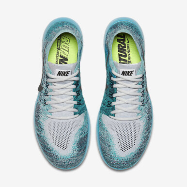 NIKE Free RN Flyknit 2017 [880843-009] - Light Blue [36]