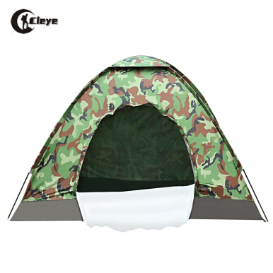 CLEYE Outdoor Fishing Camping One Layer Camouflage Tent