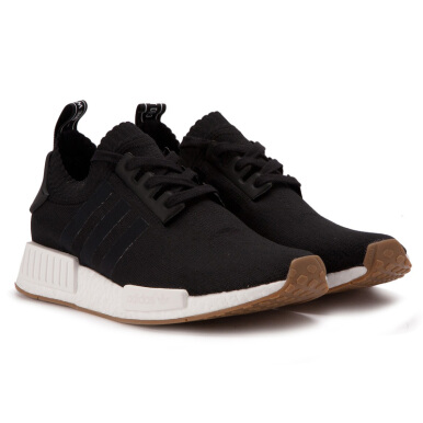 ADIDAS NMD R1 Gum Pack - Black [40.7] BY1887