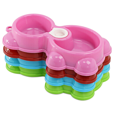 Bear Shape Pet Dog Cat Water Drinking and Food Feeding Bowl