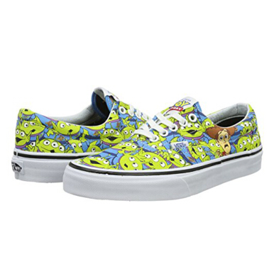 VANS Era Toy Story Aliens - Green/Multicolor [40.5] VN0A32R8M4U