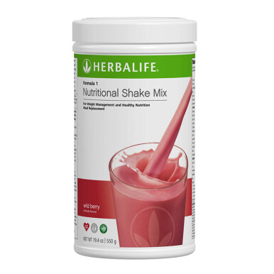 HERBALIFE Formula 1 - Wild Berry Nutritional Shake Mix 550g
