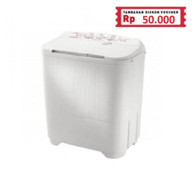 SHARP Mesin Cuci ES-T65MW-PK