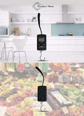 WeiHeng WH-A01L 40kg / 10g LCD Display Portable Electronic Hanging Scale