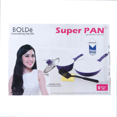 BOLDE Super Pan set 2 pcs Keramik Purple