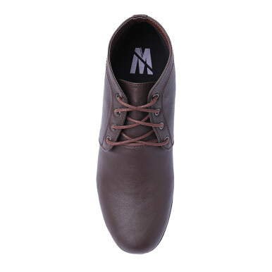 MINARNO Leather Boots Adn028 Dn - Brown [46]