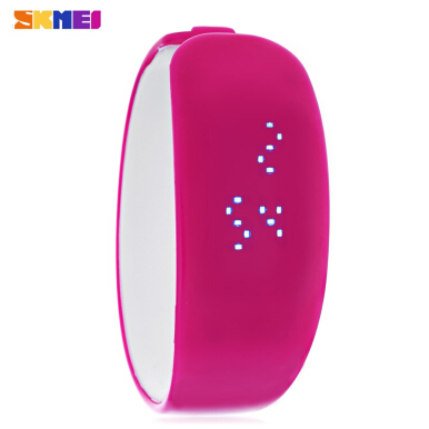SKMEI 1160 Men Women LED Digital Bracelet Watch Water Resistance Wristwatch