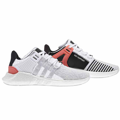 ADIDAS EQT Support 93/17 Turbo - White/Turbo Red/ Black [41.3] BA7473