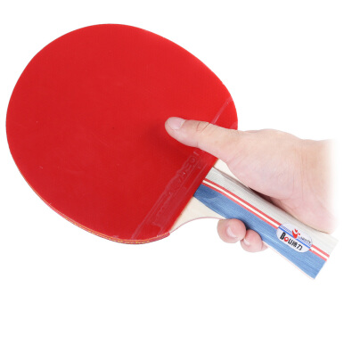 BOLI Table Tennis Ping Pong Racket Set Two Paddles Bats Three Balls