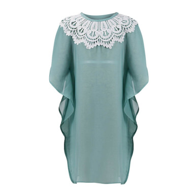 LITTLE SUPERSTAR Khamilah Caftan Green D092G [7 - 8]