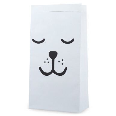 Household Storage Paper Shopping Bag Cute Cartoon Pattern