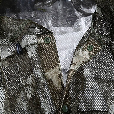 Ultra Light Mesh Double Printed Camouflage Ghillie Leafy Hunting Suit