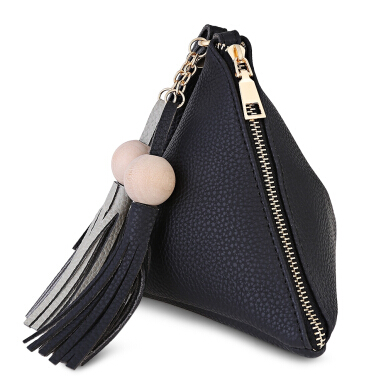 Guapabien Geometric Shape Beading Tassel Women Bag