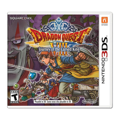 NINTENDO 3DS Game - Dragon Quest VIII: Journey of the Cursed King