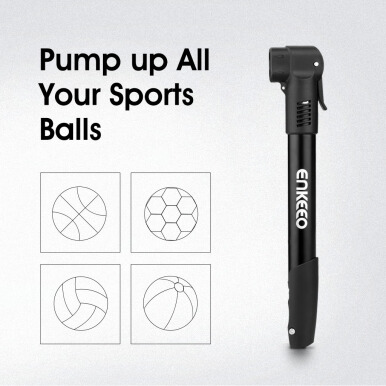Enkeeo  Mini Bike Pump