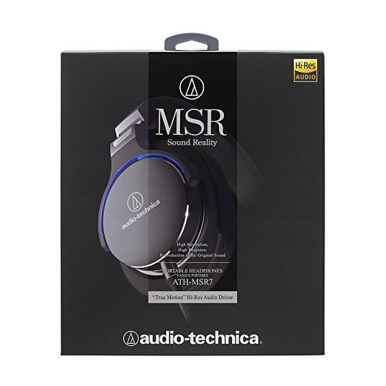 AUDIO-TECHNICA ATH-MSR7 Headphone - Black
