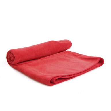 QUICKDRY Travel Towel - Red / ukuran 50 x 100 cm
