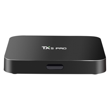 TX5 Pro TV Box H.265 Quad Core Amlogic S905X Android 6.0 2.4G 5.8G Media Player EU PLUG