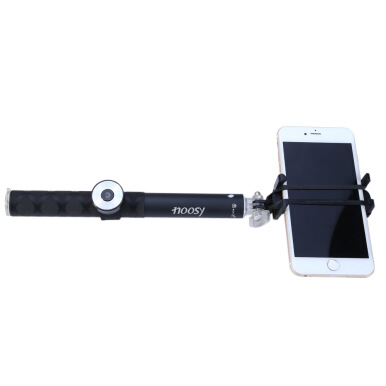 NOOSY BR0802 Wireless Handheld Bluetooth 3.0 Selfie Self-timer Monopod for Smartphone Smart Shooting Aid