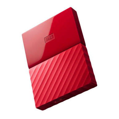 WD My Passport ULTRA New Design Portable 2TB Hard Disk Eksternal - Red